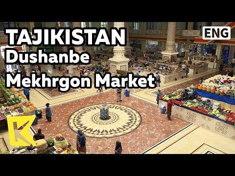 【K】Tajikistan Travel-Dushanbe[타지키스탄 여행-두샨베]메흐르곤 시장/Mekhrgon Market/Side dish