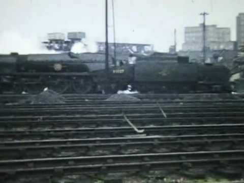 British Railways Steam 1960's Willesden & Nine Elms MPD's