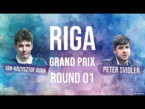 Peter Svidler In A Tough Match Vs. Duda | Riga FIDE Grand Prix