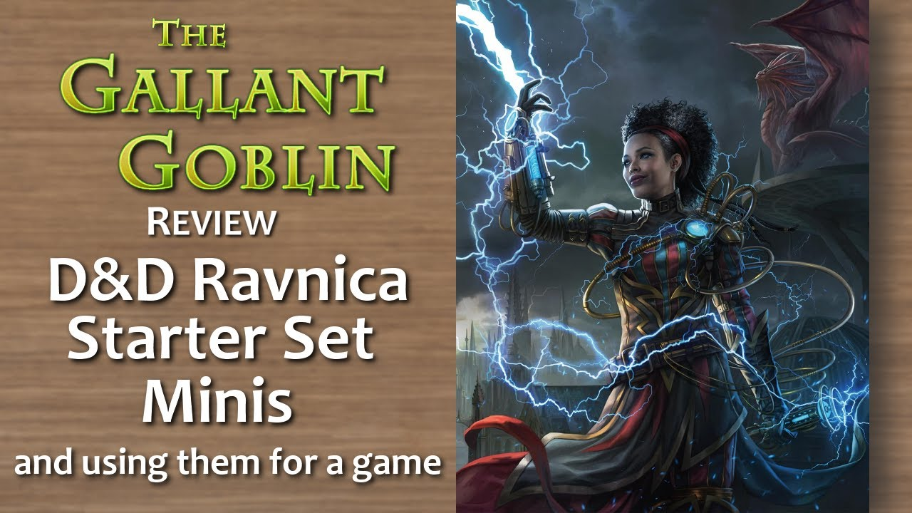 Companion Starter Sets - Guildmasters' Guide to Ravnica - D&D Icons of the  Realms Miniatures