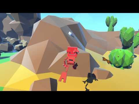 """Finding my new favorite game #1 """"Falling Way to Much!""""- Grow Home (ft. Topher) 