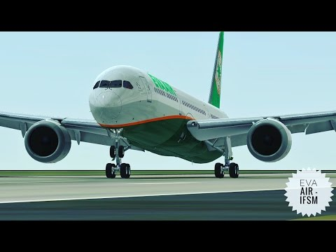 Infinite Flight Eva Air Boeing B787 - 10 - Touch And Go at Los Angeles