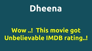 Dheena |2001 movie |IMDB Rating |Review | Complete report | Story | Cast