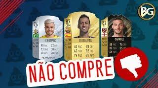 SELEÇÃO DOS PIORES JOGADORES (CUSTO/BENEFÍCIO) DO FIFA 18!