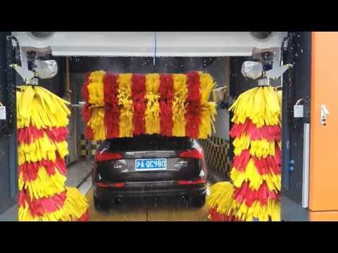 cost of car wash machine