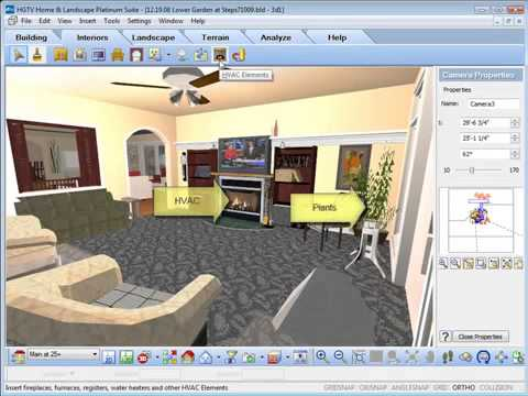 Hgtv home design software inserting interior objects youtube - Home interior design software ...