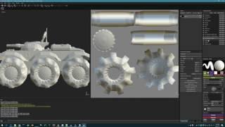 Substance Painter 2.5.3 Multiple UVMap problem thumbnail