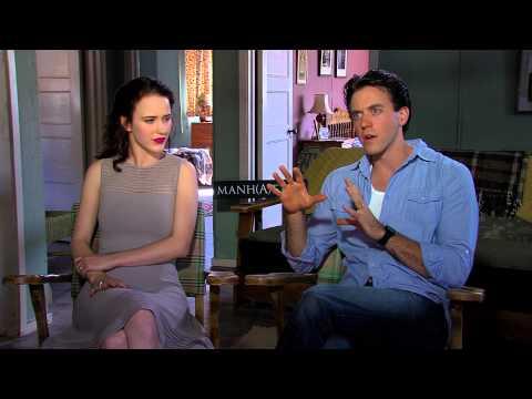 Rachel Brosnahan and Ashley Zukerman talk about Manhattan