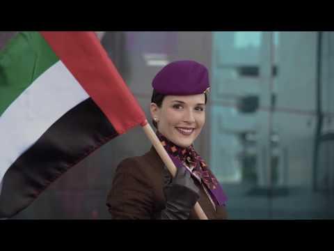 Celebrating UAE National Day 2017 - Etihad Airways