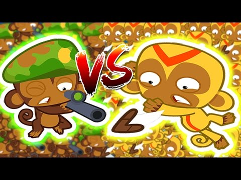 Bloons TD Battles | SNIPERS VS BOOMERANGS - INSTANTLY POP MOABS!!! W/ JeromeASF