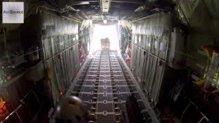 National Guard Airlift Squadron C-130 Heavy Sequential Air Drop