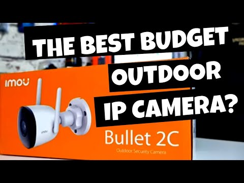Imou Bullet 2C 1080P Outdoor WiFi Security Camera Unboxing & Discount Code