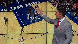 Wally Wall: Frank Ntilikina Steps Up at Both Ends   New York Knicks   MSG Networks