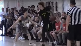 LaMelo Ball Gets HEATED vs Logan Johnson, Team Gets BLOWN OUT in AAU Game
