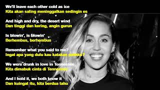 lagu Nothing Breaks Like A Heart - Mark Ronson feat. Miley Cyrus || lirik dan terjemahan