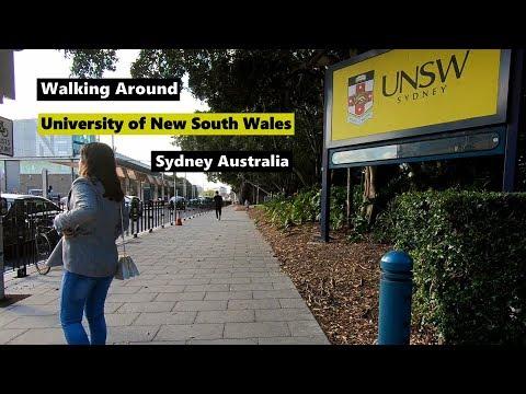 Walking Around UNIVERSITY OF NEW SOUTH WALES | UNSW Sydney