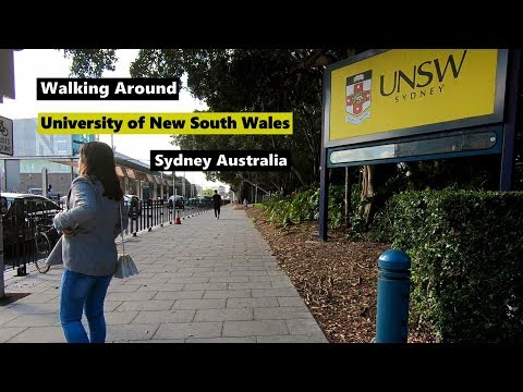 Walking Around UNIVERSITY OF NEW SOUTH WALES | UNSW Sydney