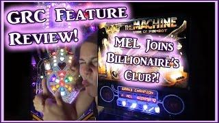 BRIDE OF PINBOT Pinball Machine ~ GRC Basement Review! Rules! Billionaire's Club Gameplay!