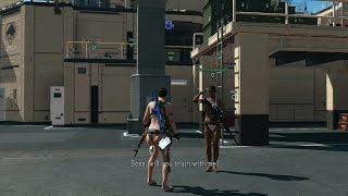 Motherbase DD swimsuits - Infinite Heaven mod - MGSV by TinManSquad