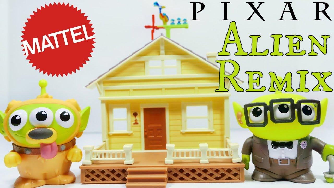 Mattel Pixar Alien Remix Carl & Dug's New Home Playset Review