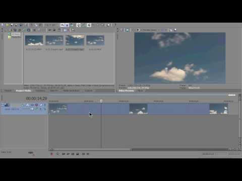 Slow Motion effect in Sony Vegas Pro 11