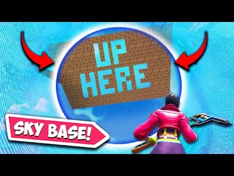 *NEW* SKY BASE TROLLING!! - Fortnite Funny Fails and WTF Moments! #582