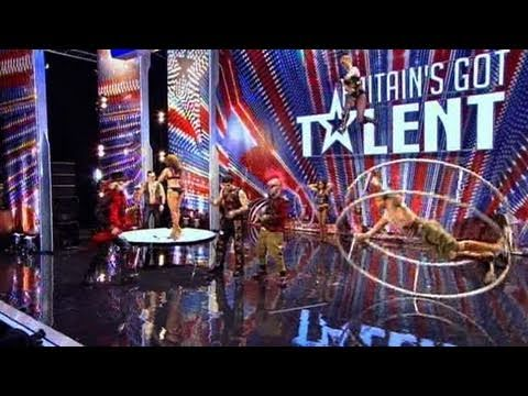 The Circus of Horrors - Britain's Got Talent 2011 audition - International Version