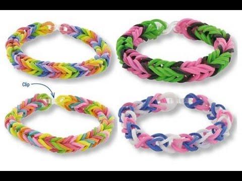 Bracelet lastique bracelet etoile rainbow youtube - Comment faire un bracelet elastique ...