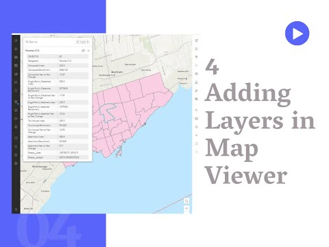 Adding Layers in Map Viewer