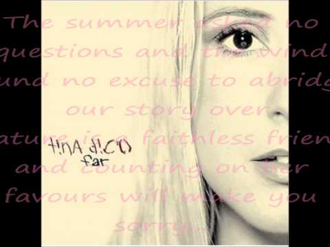 Back where we started- Tina Dico lyrics