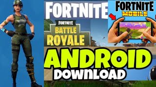 Fortnite Official For Android Download😱😱 (Apk+Obb)😱😱 | Download Fortnite First | Don't Miss it |