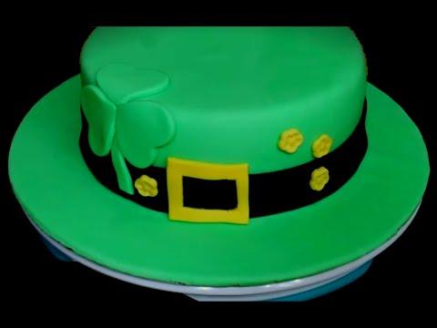 St. Patrick's Day Hat Cake