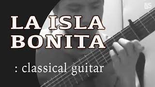 La Isla Bonita -  Madonna (solo guitar cover)