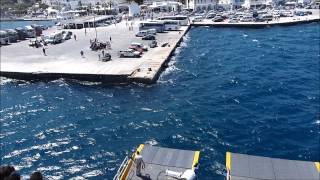 Blue Star Delos Arriving Paros Port !