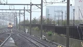 ぶらり川越号 E653系特急色 吉川美南駅通過。