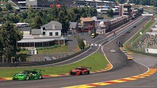 Gran Turismo™SPORT Spa-Francorchamps Test Race 1 Nissan GT-R GT3 Broadcast