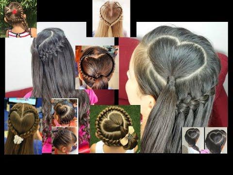Trenza Tejido Corazon Peinados Para Ninas Paso A Paso Facil Youtube