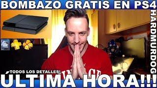 ¡¡BOMBAZO:GRATIS EN PS4!! - Hardmurdog - Noticias - Sony - Playstation - 2019 - Español