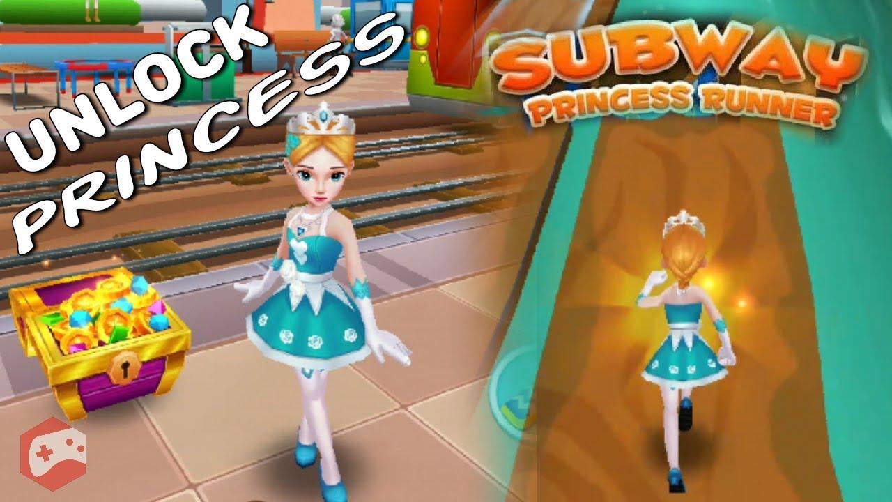 Subway Princess Runner (UNLOCK PRINCESS) iOS/Android Gameplay Video