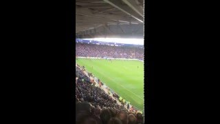 Leicester vs West Ham. West Ham 2-1 up