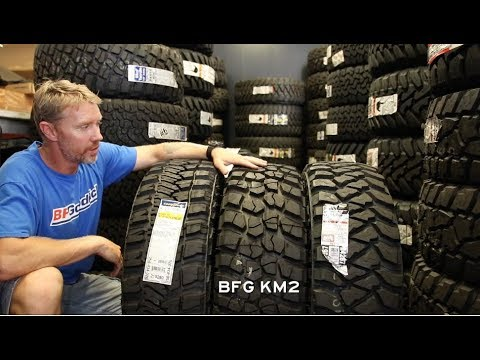 Off-Road Tire Size Comp: 265 vs 275 vs 285 KO2, Ridge Grappler, KM2, MTZP3, MTR