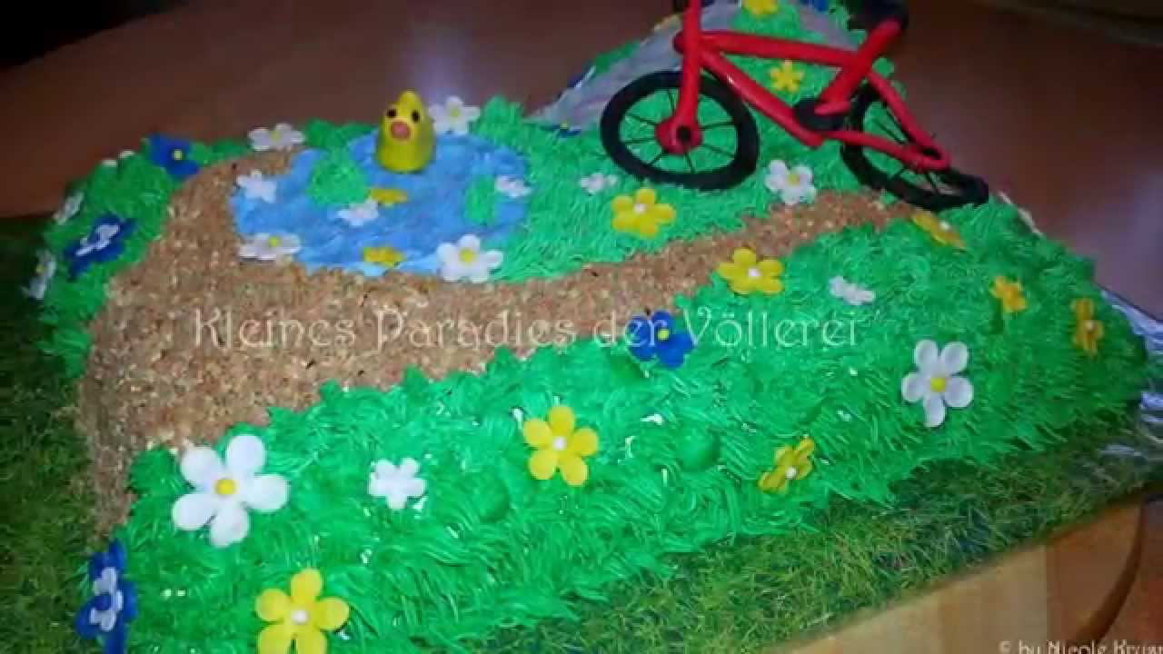 Fahrrad Torte Bycicle Cake In The Mountain Youtube