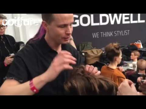 "Hair fashion show ""17 Goldwell & KMS"
