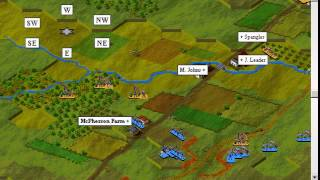 IE 21 PC games review - Battleground Gettysburg (1995)