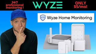 Wyze Home Monitoring | Professional Monitoring for $5!