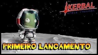 Primeiro Lançamento - Kerbal Space Program