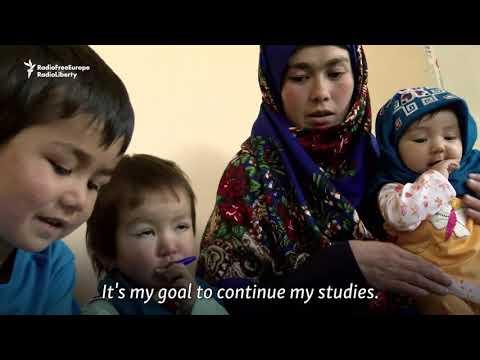 Afghan Mother Speaks Of University Goals After Image Goes Viral