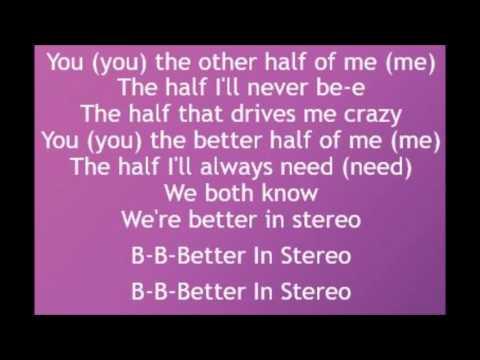 Better In Stereo - Dove Cameron (Lyrics)