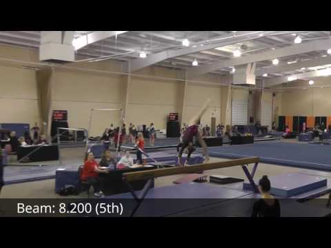 20170121  Emily Joyce Level 9  Rolling Thunder meet  Lake Ozark, MO  All