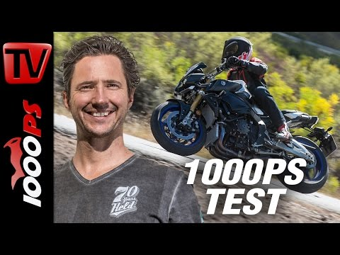 1000PS Test - Yamaha MT-10 SP 2017 - Wheelt leiwand - fahrt leiwand